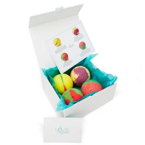 Organic Bath Bomb Set The Exotic Collection
